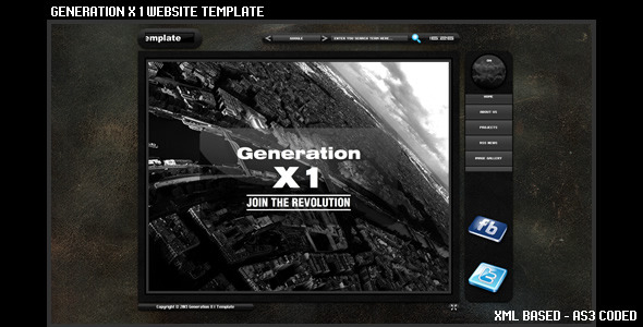 ActiveDen Generation X 1 Template 3901329