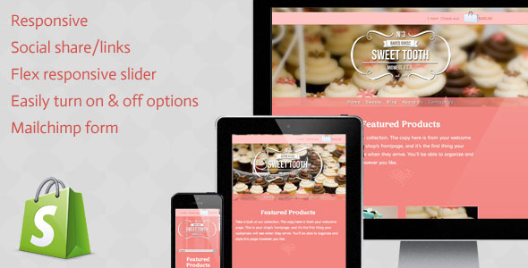 ThemeForest Sweet Tooth 3918708