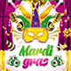 Mardi Gras Party Flyer VOL.1 - GraphicRiver Item for Sale