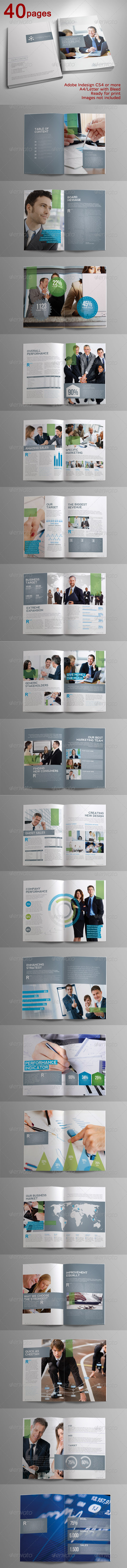 GraphicRiver 40 pages Indah Corporate Brochure 3919272