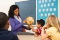 Teacher Holding Globe - PhotoDune Item for Sale