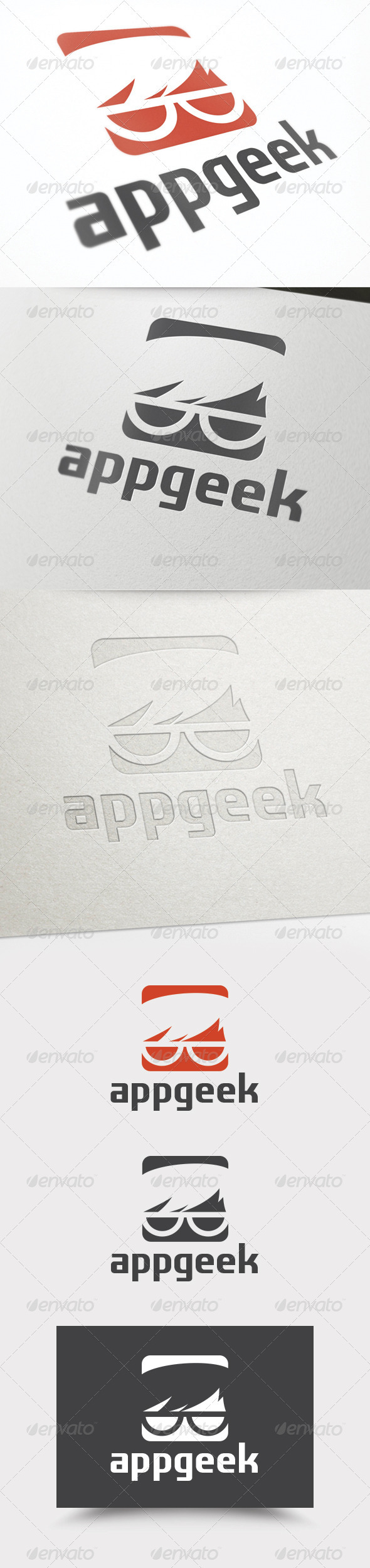 GraphicRiver App Geek Logo 3920799