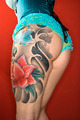 Tattooed womans leg and derriere - PhotoDune Item for Sale