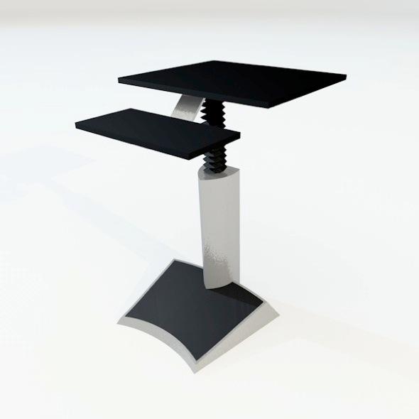 3DOcean computer desk 3920875