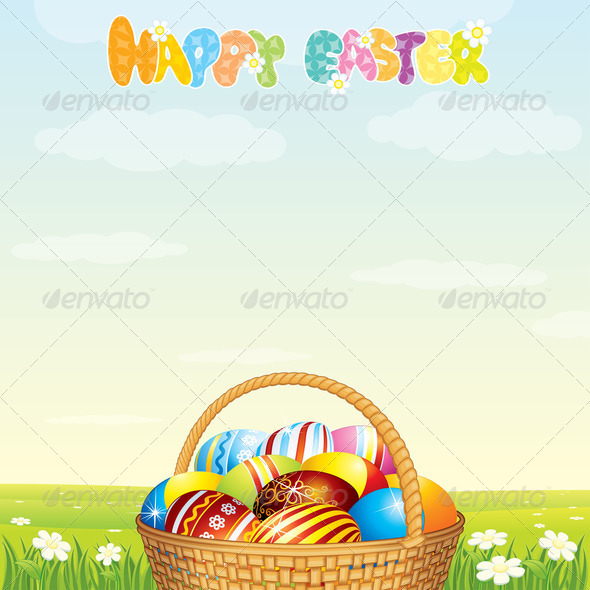 Stock Photography - Easter Card Photodune 3921100
