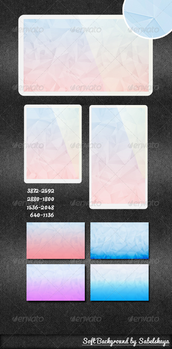 GraphicRiver Soft Background 2 3921205