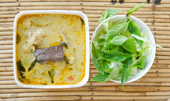 Stock Photography - green curry thai food Photodune 3921574