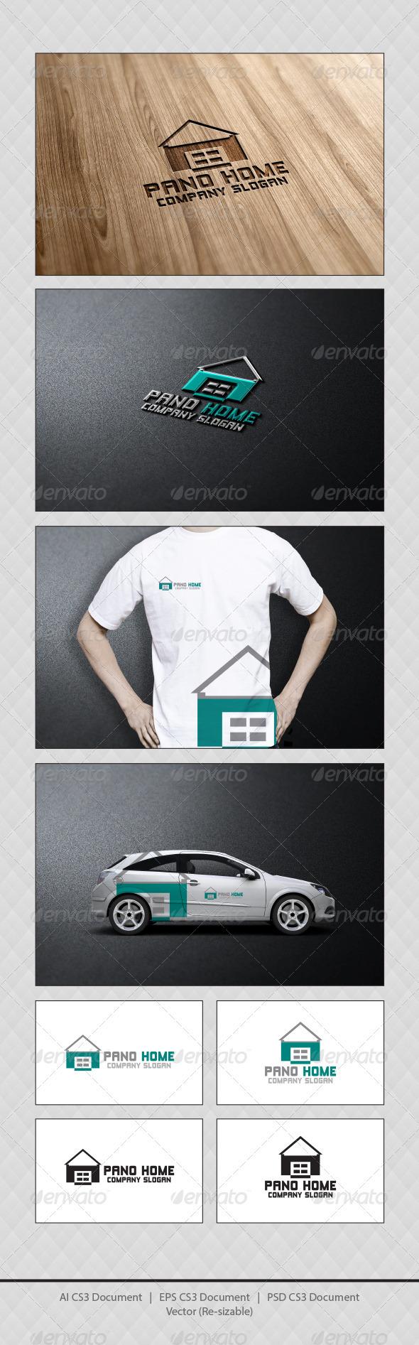 GraphicRiver Pano Home Logo Templates 3921658