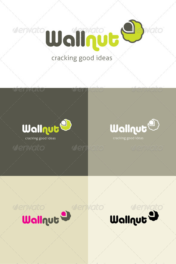 Wallnut A cracking little creative logo