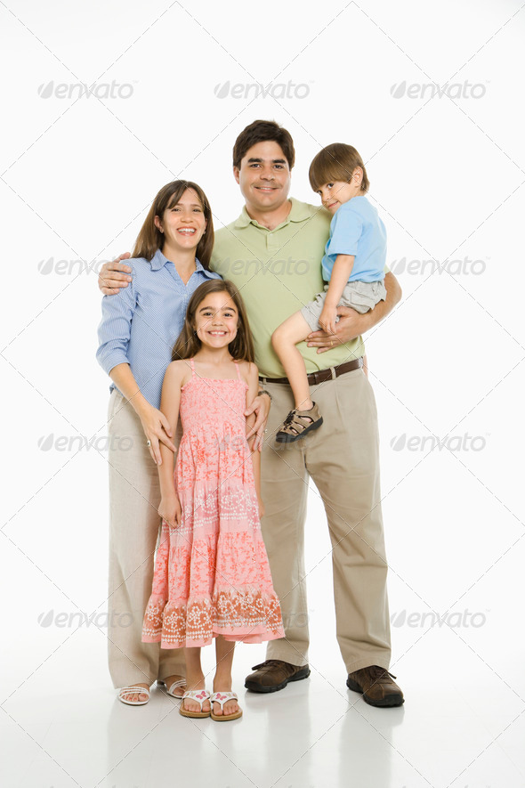 PhotoDune Hispanic family 423054