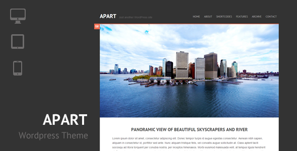 ThemeForest Apart Responsive Wordpress Theme 3888161
