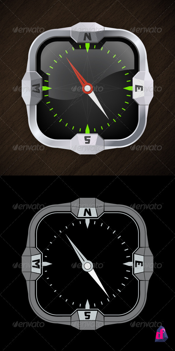 GraphicRiver Square Compass 2320848