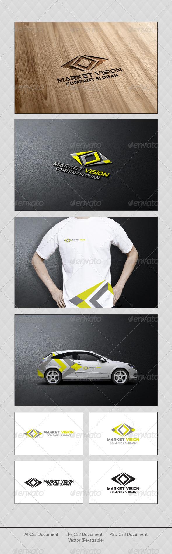GraphicRiver Market Vision Logo Templates 3924363