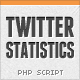 Twitter Statistics Suite - CodeCanyon Item for Sale