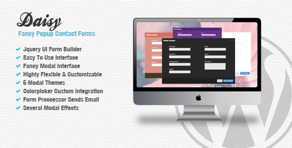 Daisy - Fancy Popup Contact Forms - CodeCanyon Item for Sale