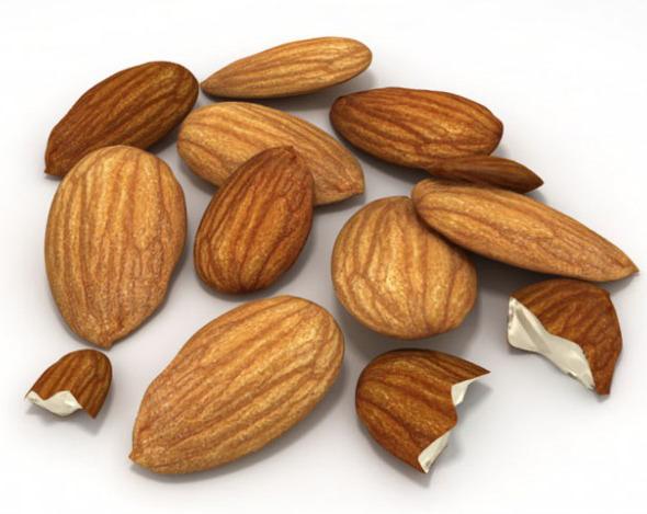 3DOcean Almonds Unshelled 3924750