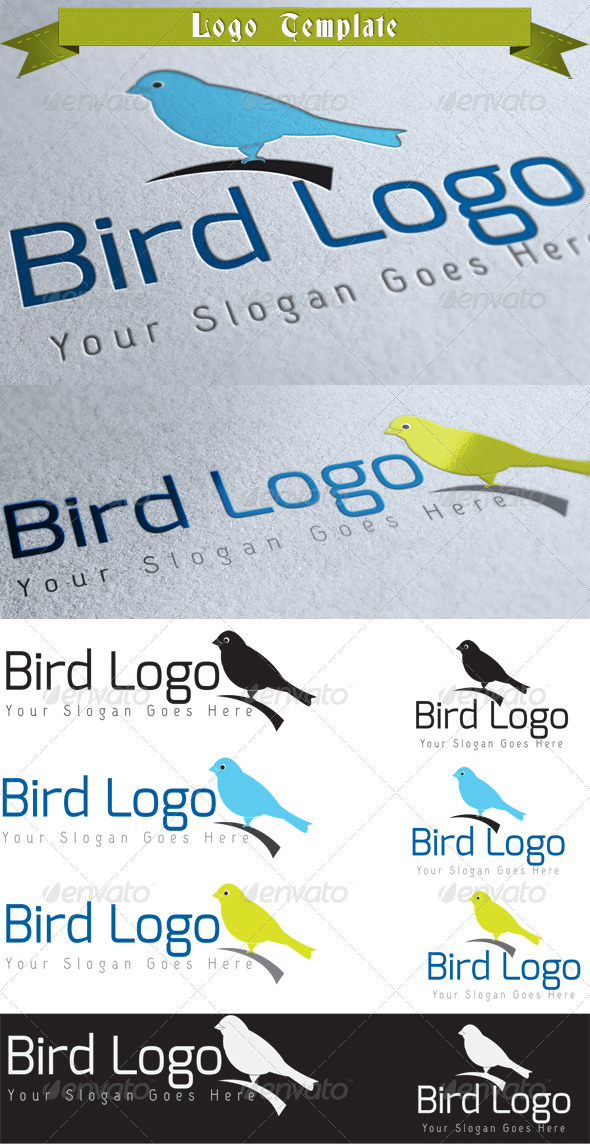 GraphicRiver Bird Logo Template 3924974