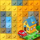 3D Toy Bricks Photoshop Actions