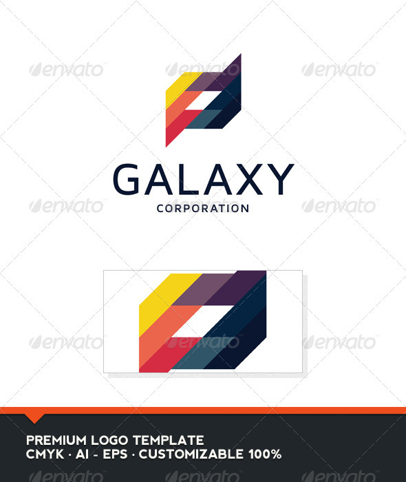 GraphicRiver Galaxy Abstract Logo Template 3925646
