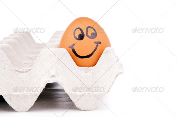 Egg Characters - Stock Photo - Images