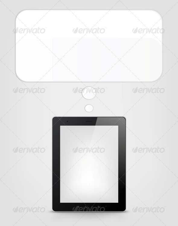 GraphicRiver Digital Tablet Concept 3925891