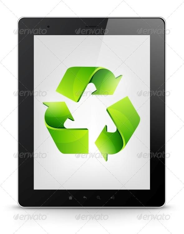 GraphicRiver Digital Tablet Concept 3925901