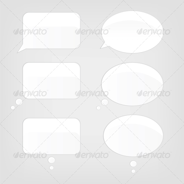 GraphicRiver Speech Bubbles 3925902