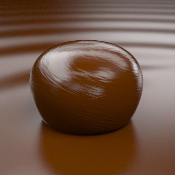 Bonbon of Chocolate (1) - 3DOcean Item for Sale