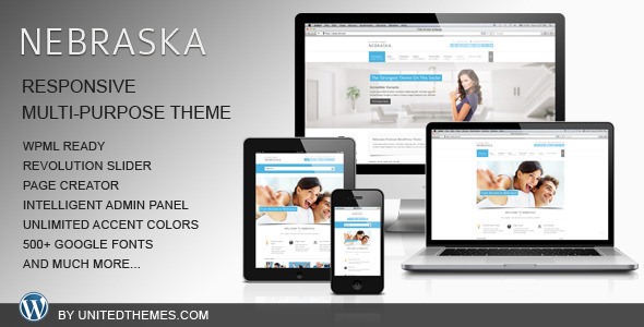 ThemeForest Nebraska Responsive Multi-Purpose Theme 3885811