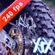 Motocross Bike On Dust 240fps - VideoHive Item for Sale