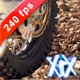 Motocross Wheel Spin 240fps - VideoHive Item for Sale