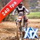 Biker Splashing Mud 240fps - VideoHive Item for Sale