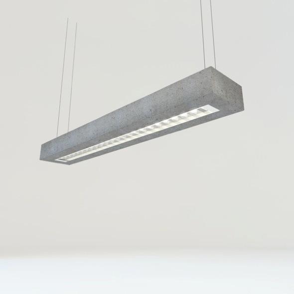 3DOcean concrete tube light 3920895
