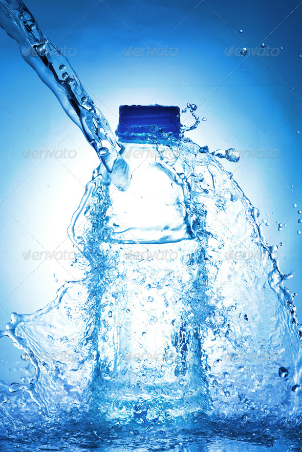PhotoDune Water bottle 3937048