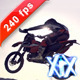 Motocross Racer Flying 240fps - VideoHive Item for Sale