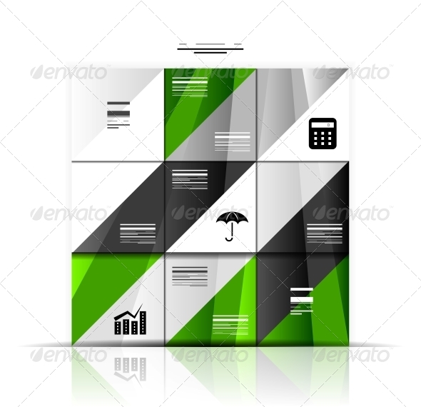 GraphicRiver Modern Geometric Infographic Banner Template 3927551