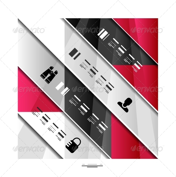 GraphicRiver Modern geometric infographic banner template 3927557