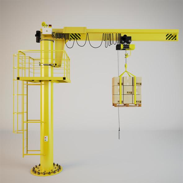 3DOcean Crane 3928149