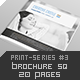 Brochure Square 20 Pages Print-Series #3 - GraphicRiver Item for Sale
