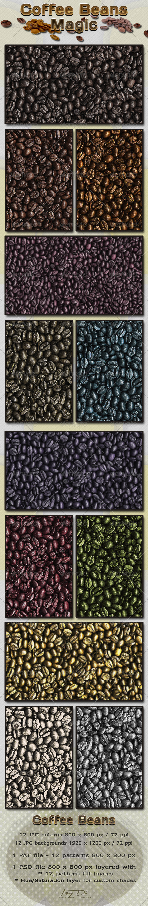 GraphicRiver Coffee Beans Magic 3928657