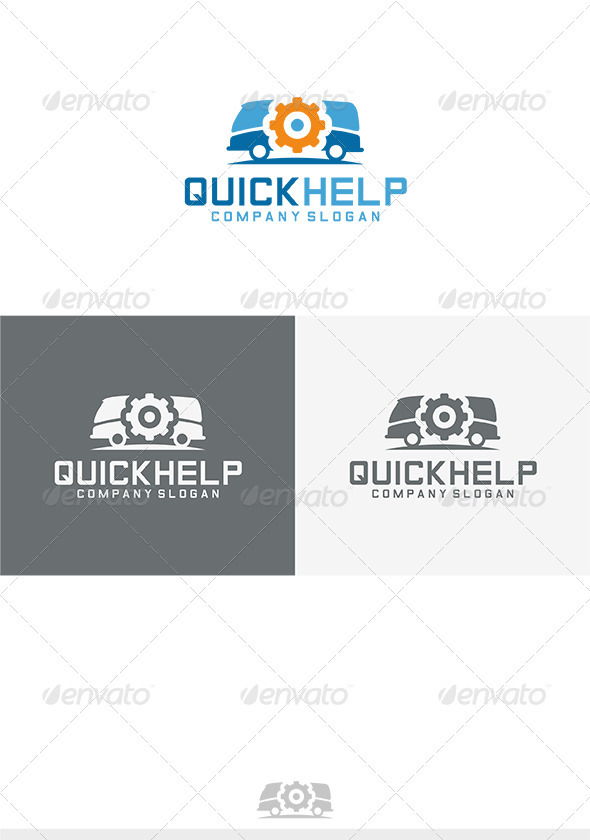 GraphicRiver Quick Help Logo 3745453
