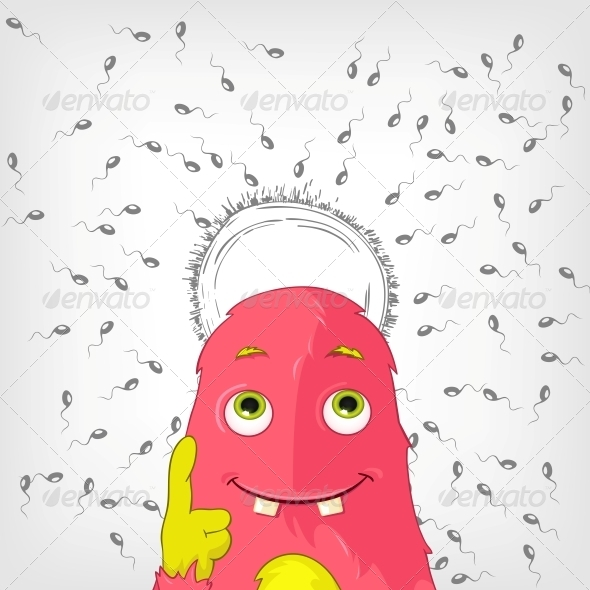 GraphicRiver Funny Monster 3929524
