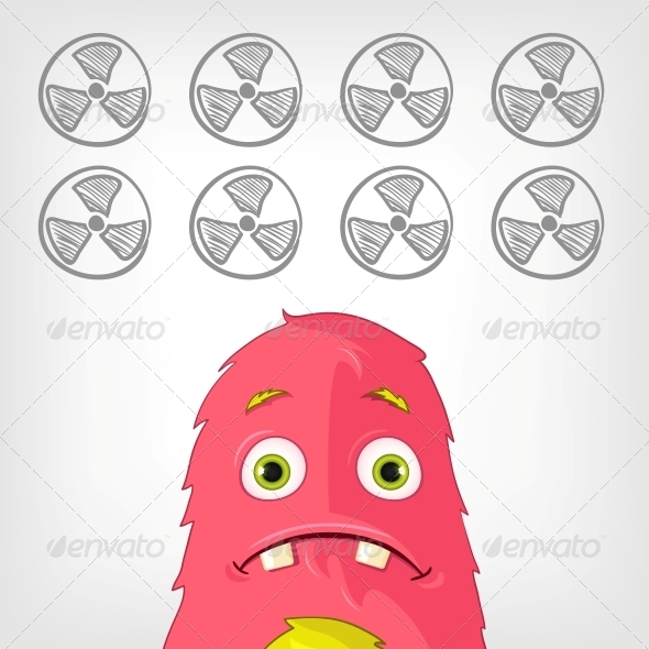 GraphicRiver Funny Monster 3929530