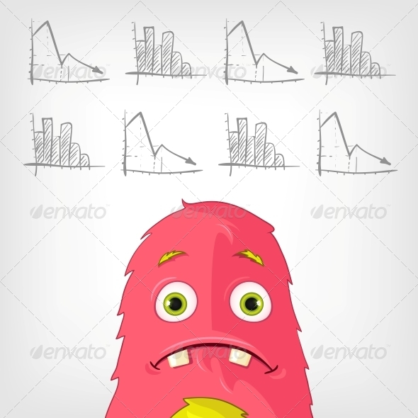 GraphicRiver Funny Monster 3929535