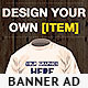 T Shirts Design Banner Ad Template - GraphicRiver Item for Sale