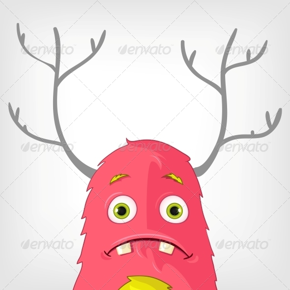 GraphicRiver Funny Monster 3929588