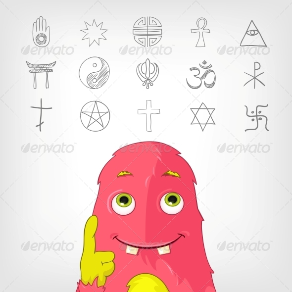 GraphicRiver Funny Monster 3929597