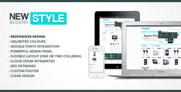 New Modern Style - Responsive & Powerful OpenCart