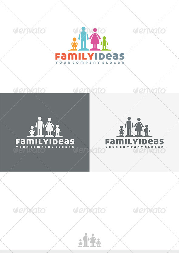GraphicRiver Family Ideas Logo 3930802