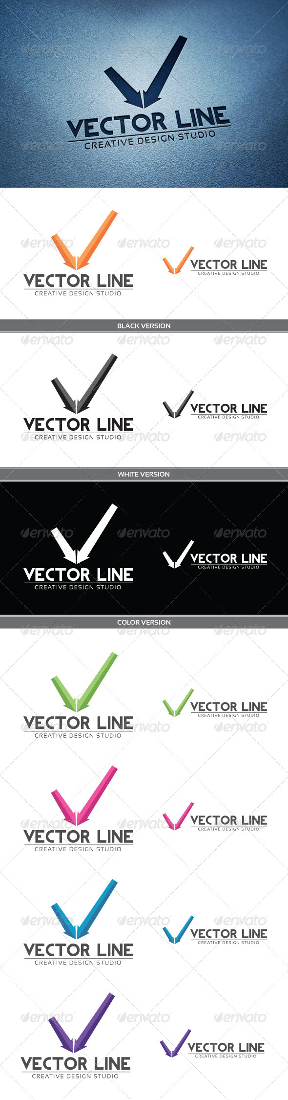 GraphicRiver Vector Line 3930881